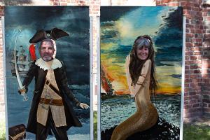 Pirat und Meerjungfrau