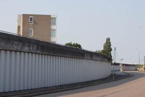 Wasserschutz-Mauer