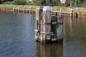 Delfzijl, im alten Eemskanaal