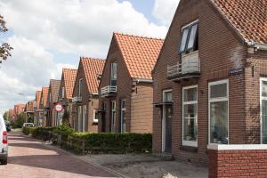typische Reihenhäuser in NL