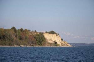 Steilküste der Flensburger Förde auf dänischer Seite