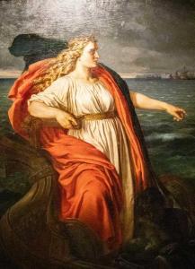 Britannia 1873  Schutzgöttin der britischen Seefahrt