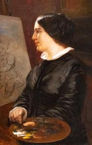 Elisabeth Jerichau-Baumann, Selbstbildnis