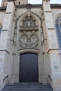Brautportal rekonstruiert