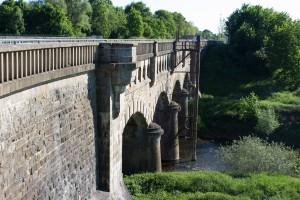 historische Kanalbrücke