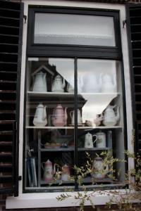 geschmücktes Fenster