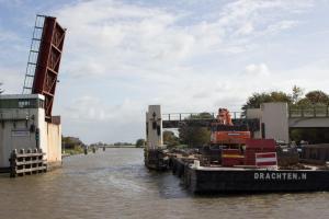 Brücke wird geschleift