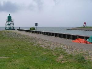 am IJsselmeer
