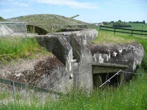Eingang zu Bunker