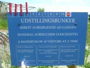 Besucherregulierung mittels Wäscheklammern
