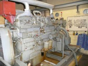 150 PS Dieselmotor für Stromversorgung