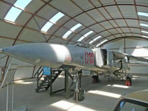 Jagdflugzeug MIG 23 (Sowjetunion)