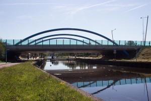 feste Brücke nur 3.5 m hoch