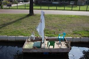 zukünftige Bootsbauer