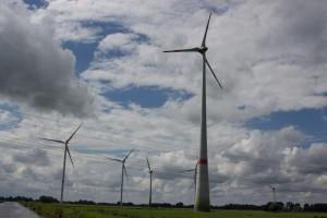 Windturbinen-Park