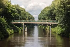 Fussgängerbrücke Kroglitzweg