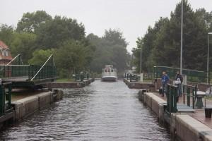 Kesselschleuse in Emden