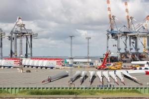 Windturbinen für die Nordsee