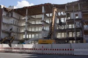 Abbruch für Neubau