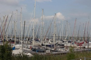 unzählige Boote YH Ketenmeer