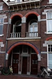 altes renoviertes Wohnhaus